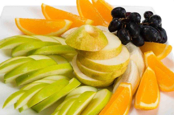 фруктовая нарезка на выпускной
